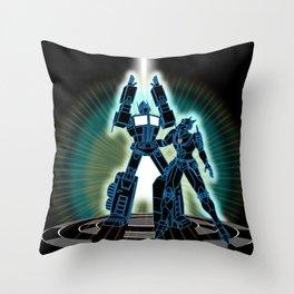 CyberTRON (G1 Optimus Prime Transformers TRON)  Throw Pillow