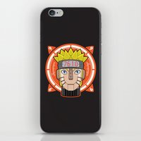 naruto iPhone & iPod Skins featuring Mecha Naruto by Enrique Valles