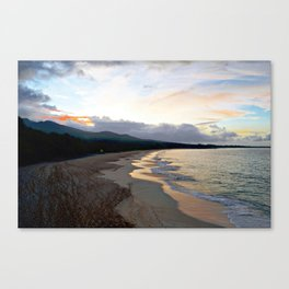 oneloa sunrise Canvas Print