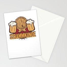 beer keg tasting Stationery Cards