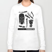 terminator Long Sleeve T-shirts featuring Decommissioned: Terminator  by Josh Ln