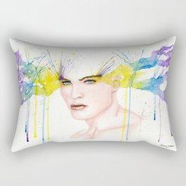 Colourful Captivation Rectangular Pillow