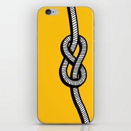 Figure 8 knot iPhone Skin