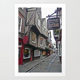 The Shambles of York Art Print