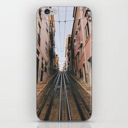 Lisbon Bica Funicular, Lisbon, Portugal iPhone Skin