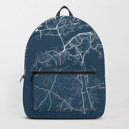 Gothenburg Blueprint Street Map, Gothenburg Colour Map Prints Backpack