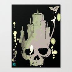 Death is Reborn/Reborn is Death Canvas Print