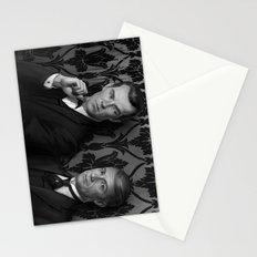 Holmes & Watson -- BBC meets Granada Stationery Cards