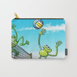 Olympic Volleyball Frog Carry-All Pouch
