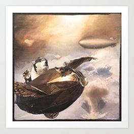 Peace Pilots Art Print