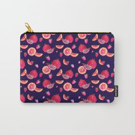 Watercolor fruits Carry-All Pouch