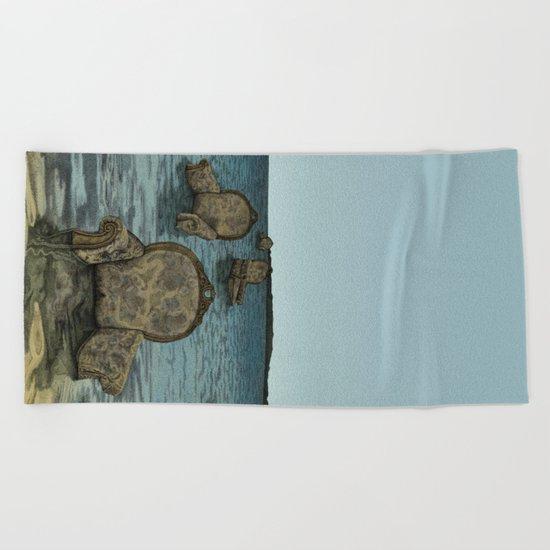 Alices Tears Beach Towel