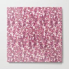 Pink confetti. Festive design. Metal Print