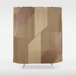 A Hymn To Friendship - Mid Century Modern Forms Shower Curtain