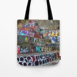 Graffiti in the wild Tote Bag