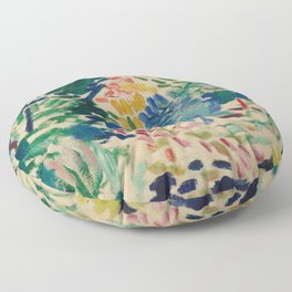 Landscape at Collioure - Henri Matisse - Exhibition Poster Floor Pillow
