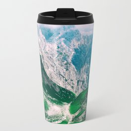View of the majestic Madeira mountains Travel Mug