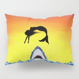 Shark Attack Pillow Sham