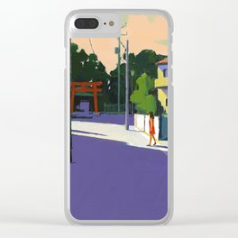 Girl and Tori Clear iPhone Case