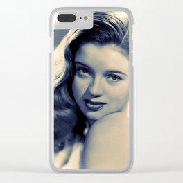 Diana Dors, Movie Legend Clear iPhone Case