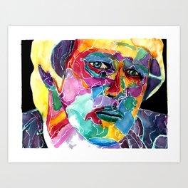 Fifth Doctor / Peter Davison  Art Print