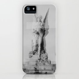 Distorted Angel iPhone Case