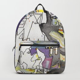 Kissing in New York City Backpack