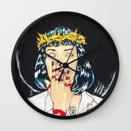 Mother Mia (Mia Wallace) Wall Clock