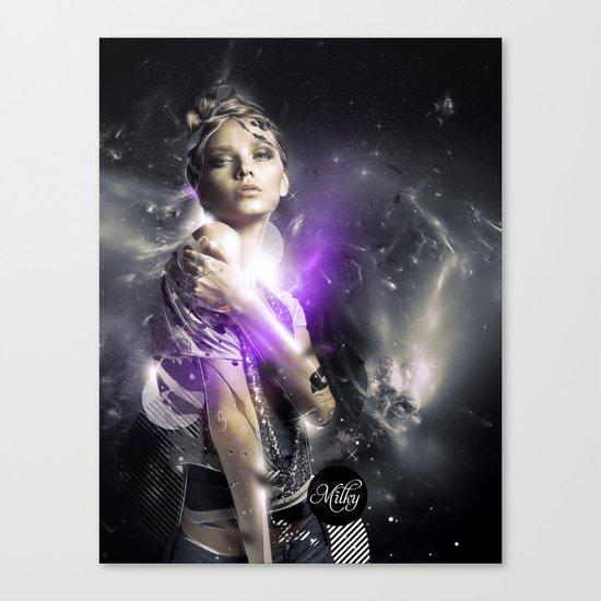 Milky Canvas Print
