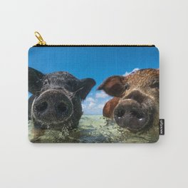 Bahamas Pigs Carry-All Pouch