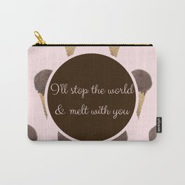 Melt With You (Strawberry) Carry-All Pouch