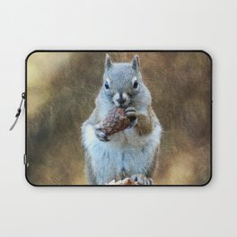 Squirrel with a Pine Cone Laptop Sleeve
