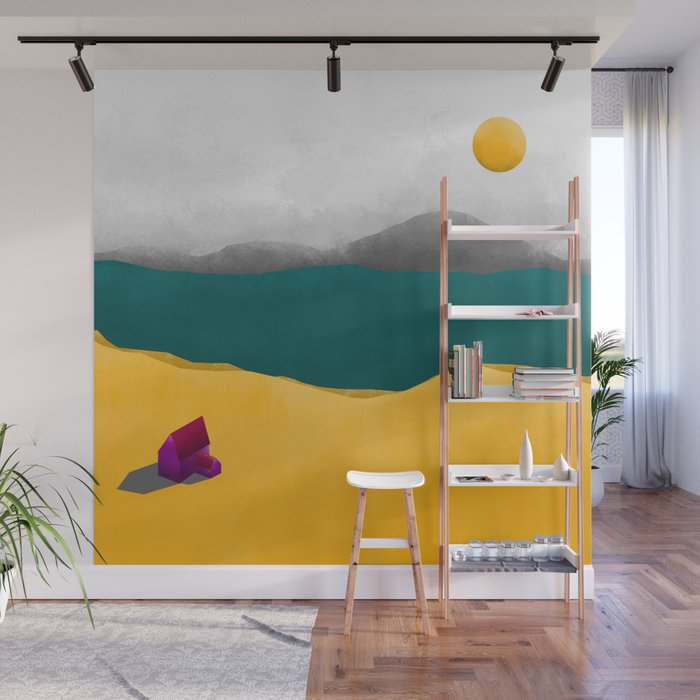 Simple Housing - Beyond the sea Wall Mural