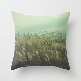 Summer Meditation Throw Pillow