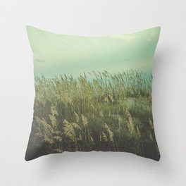 Summer Meditation Throw Pillow