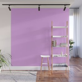 Cheapest Solid Blush Pink Purple Color Wall Mural