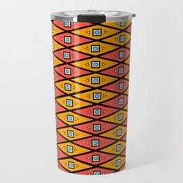 Orange and Yellow Travel Mug