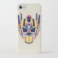 transformer iPhone & iPod Cases featuring Prime by Fimbis