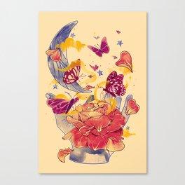 Papillon Ache Canvas Print