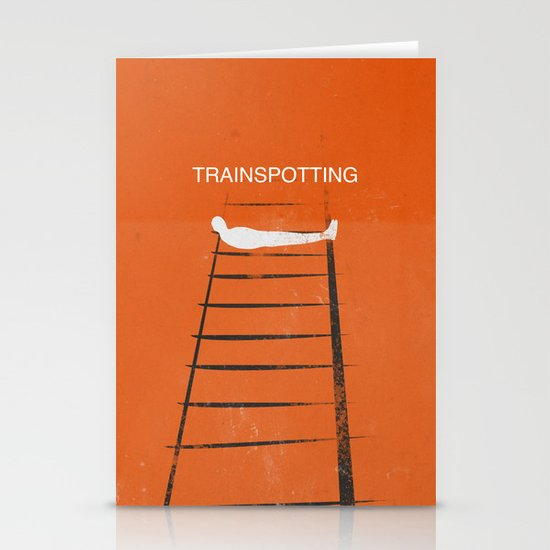 Trainspotting Stationery Cards