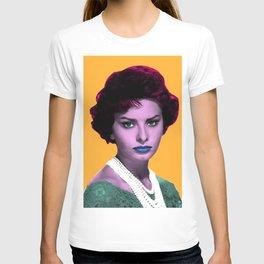 SOPHIA L O R E N POP ART T-shirt