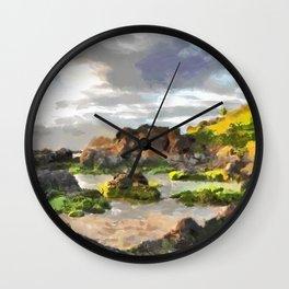Kihei, Maui, Hawaii Wall Clock