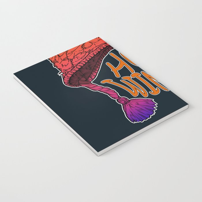 Hot Pineapple Winter Notebook