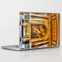 college Laptop & iPad Skins featuring Royal Naval College Greenwich  by David Pyatt