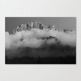 Haller Mauern Canvas Print