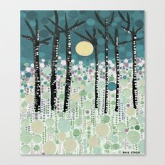 :: Moonlight Kiss :: Canvas Print