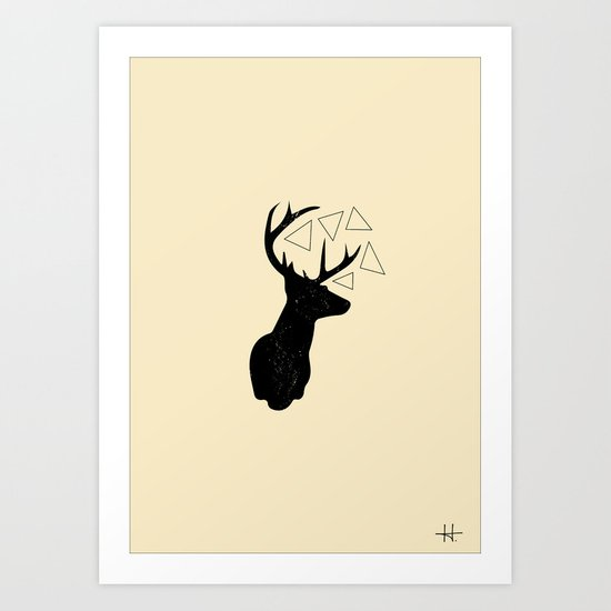 Prongs. Art Print