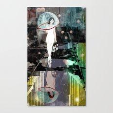 BUBBLE RAIN Canvas Print