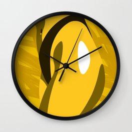 Solar Plexus Chakra - Wisdom & Power Wall Clock