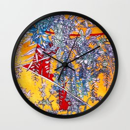 DREAMS  #society6 #decor #buyart Wall Clock